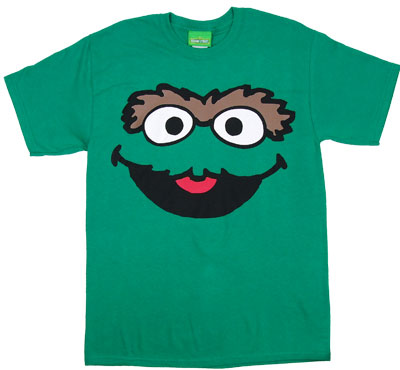 Oscar Face - Sesame Street T-shirt