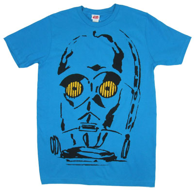C3PO Face - Star Wars Sheer T-shirt