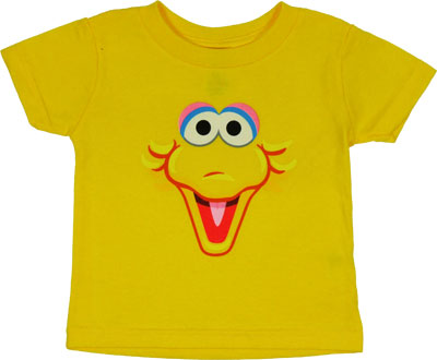 Big Bird Face - Sesame Street Infant T-shirt