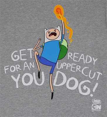 Get Ready For An Uppercut - Adventure T-shirt