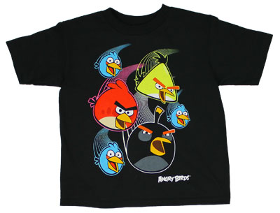 Warp Speed - Angry Birds Juvenile T-shirt