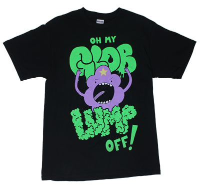 Oh My Glob Lump Off! - Adventure Time T-shirt