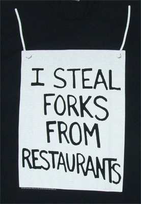 I Steal Forks - Curb Your Enthusiasm T-shirt