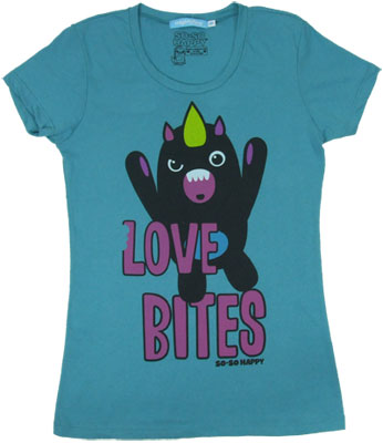 Love Bites - So-So Happy Sheer Women's T-shirt