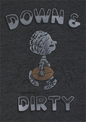 Down And Dirty - Peanuts Sheer T-shirt