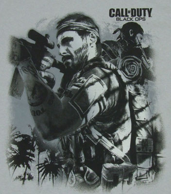Jungle Warrior - Call Of Dut Black Ops T-shirt