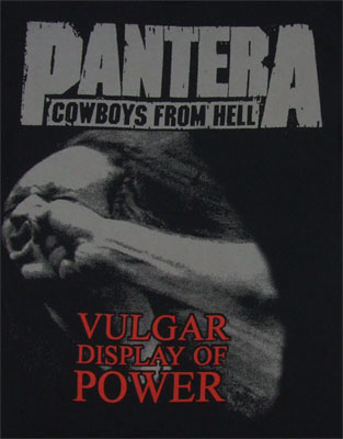 Vulgar Display Of Power - Pantera T-shirt