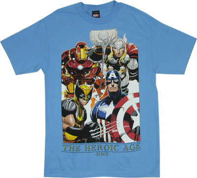 The Heroic Age - Marvel Comics T-shirt