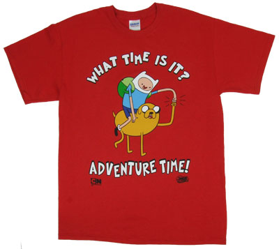 What Time Is It? - Adventure Time T-shirt