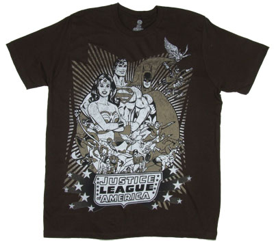 Justice League America - DC Comics T-shirt