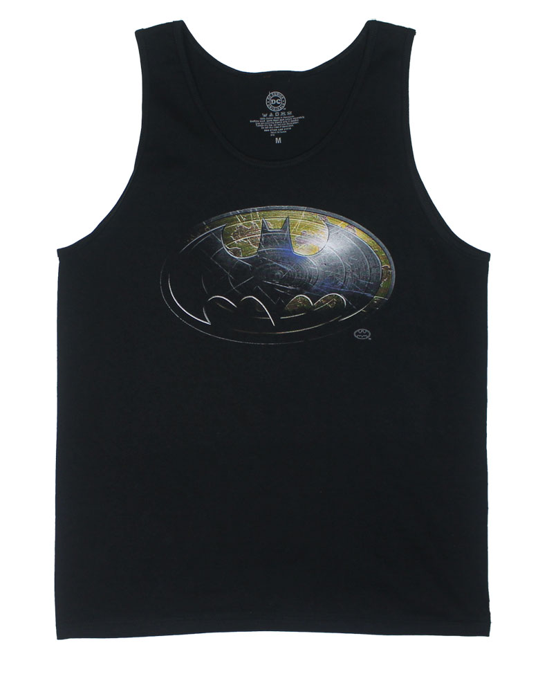 Batman Metal Shield - DC Comics Tank TopThis tank top features the Batman logo