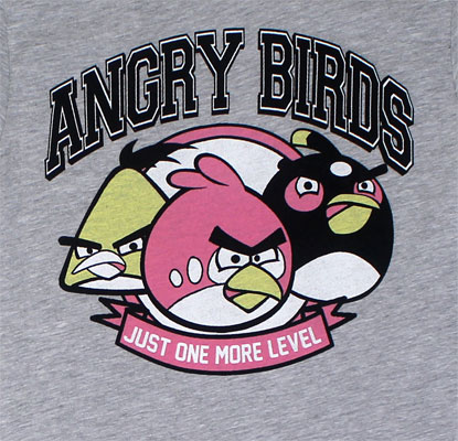 One More Level - Angry Birds Sheer Women's T-shirt
