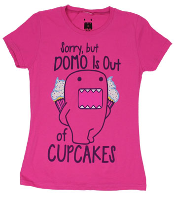 Domo Is Out Of Cupcakes - Domo-Kun Sheer Women's T-shirt