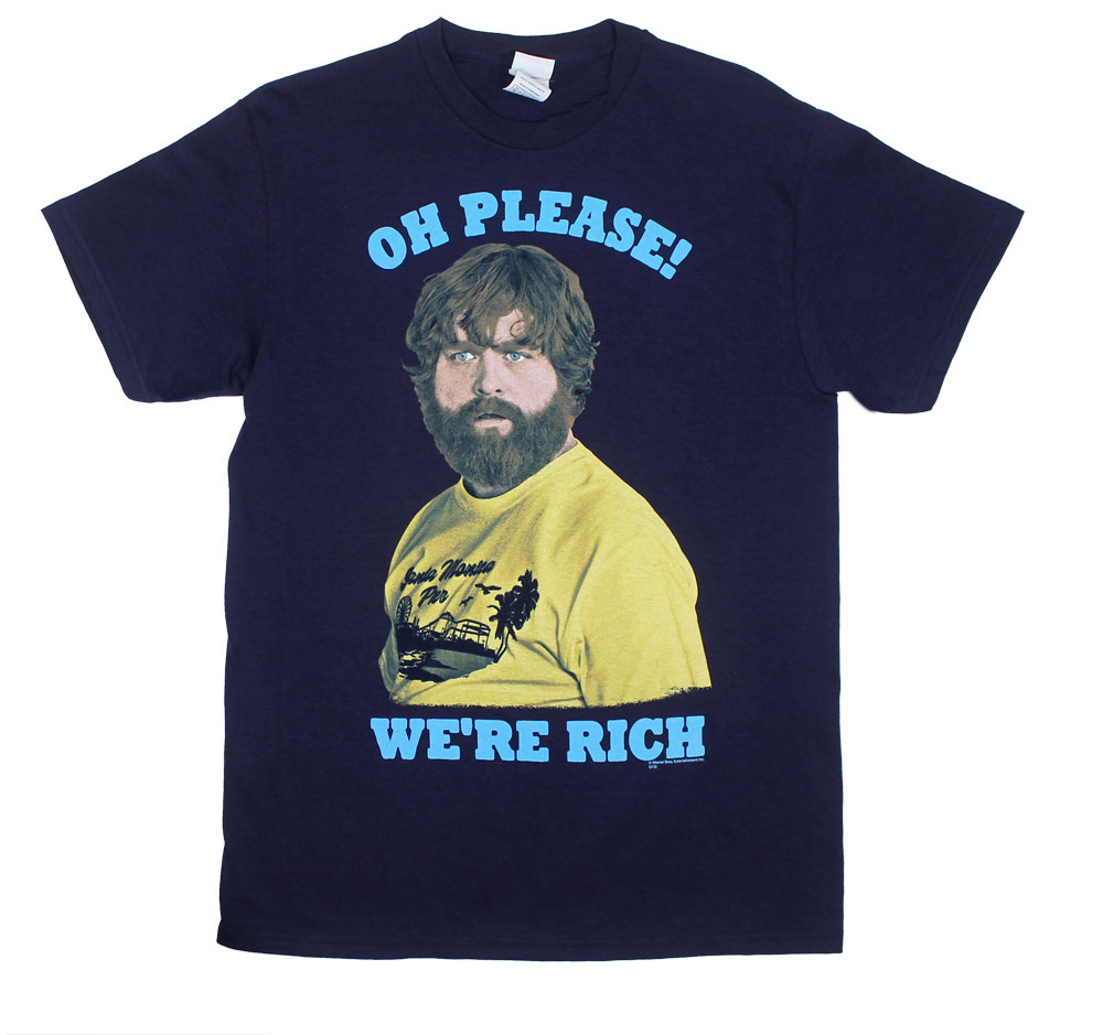 Oh Please! We're Rich - Hangover Part III T-shirt