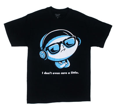 I Don't Even Care A Little - Family Guy T-shirt