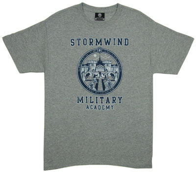 Stormwind Military Academy - World Of Warcraft T-shirt