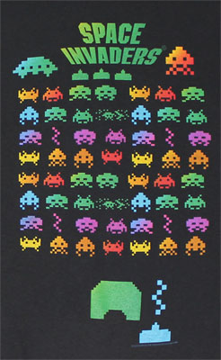 Atari Invaders - Space Invaders T-shirt