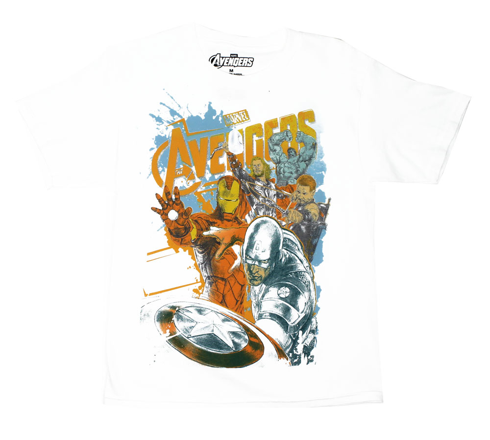 Avengers Splatter - Avengers Youth T-shirt