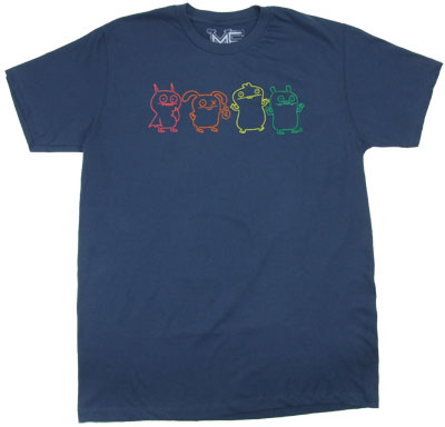 Rainbow Dolls - Ugly Doll Sheer T-shirt