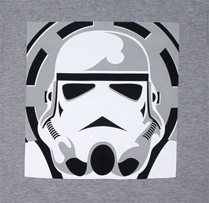 Minimal Trooper - Star Wars Sheer T-shirt