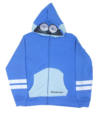 Mordechai - Regular Show Youth Hooded Sweatshirt
