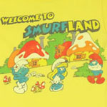 Welcome To Smurfland - Junk Food Women's T-shirt