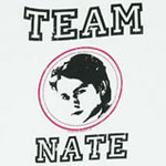 Team Nate - Gossip Girl Sheer Women's T-shirt