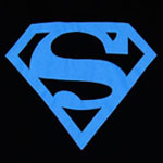 Neon Superman Logo - DC Comics T-shirt