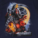 Captain America And Iron Man - Avengers Juvenile T-shirt