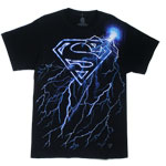 Superman Lightning Logo - DC Comics T-shirt