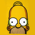 Homer Huge Face - Homer - Simpsons T-shirt