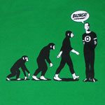 Evolution Of Sheldon - Big Bang Theory T-shirt