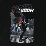 Black Widow - Marvel Comics Sheer Women's T-shirt