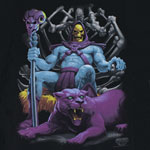 Skeletor On The Throne - He-Man T-shirt