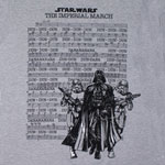Imperial March Lyrics - Star Wars Sheer T-shirt
