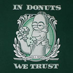 In Donuts We Trust - Homer - Simpsons T-shirt