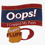 Oops! I Crapped My Pants - Saturday Night Live Sheer T-shirt