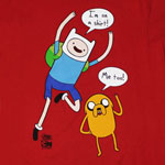 I&#039;m On A Shirt - Adventure Time T-shirt 
