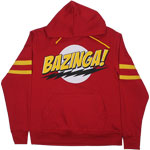 Bazinga! - Big Bang Theory Hooded Sweatshirt