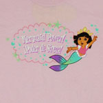 Mermaid Power - Dora The Explorer Youth T-shirt 