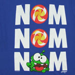 Nom Nom Nom - Cut The Rope T-shirt