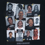 Group Mugshot - Sons Of Anarchy T-shirt