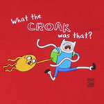 What The Croak Was That? - Adventure Time T-shirt