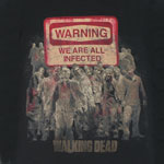 Warning - Walking Dead T-shirt