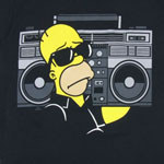 Homer Boom Box - Homer Simpson T-shirt