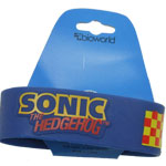 Checkered Pattern - Sonic The Hedgehog Rubber Wristband