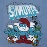 Bored - Smurfs Juvenile T-shirt