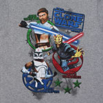 Logo Poppers - Star Wars Clone Wars Juvenile T-shirt