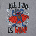 All I Do Is Win - Sesame Street Sheer T-shirt