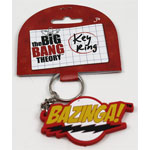 Bazinga! - Big Bang Theory Keychain